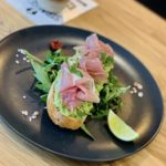 Avocado on toast extra Parma's ham