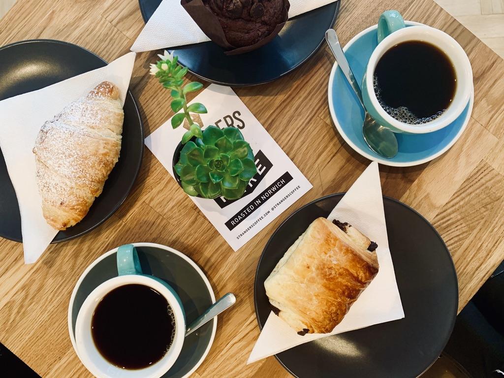 breakfast at Black Rabbit Cafe