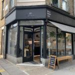Black Rabbit Cafe door