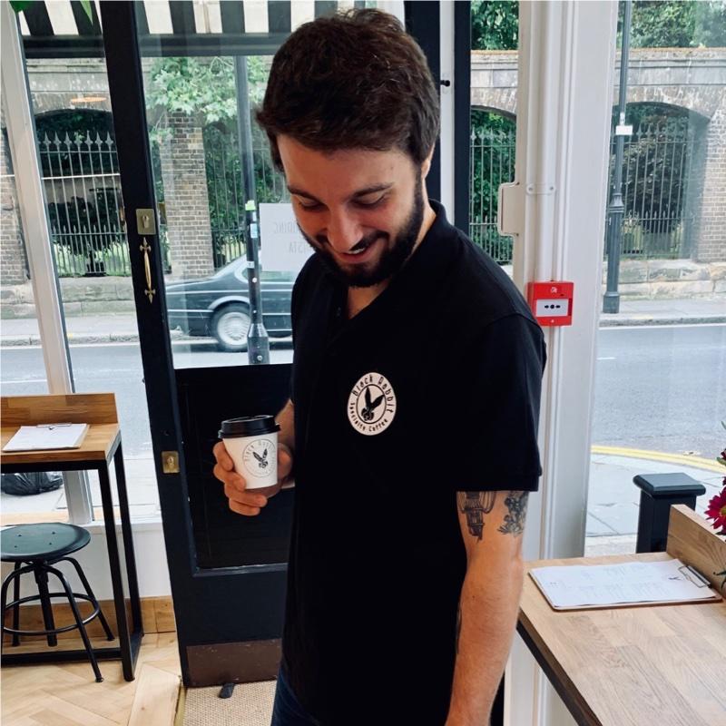 The Black Rabbit Cafe founder: Alberto Solina